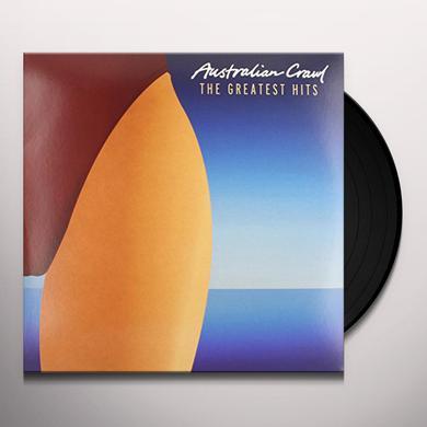 Australian Crawl GREATEST HITS Vinyl Record
