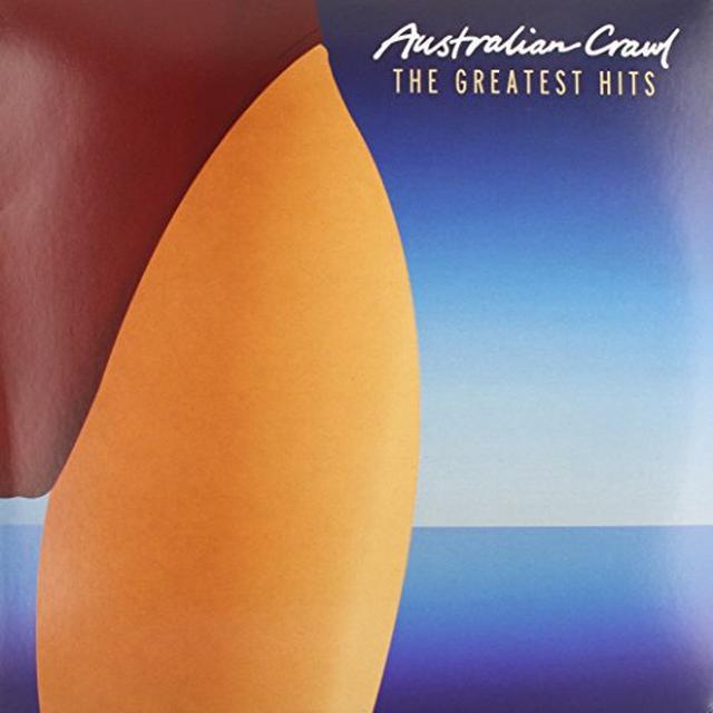 Australian Crawl GREATEST HITS Vinyl Record - Australia Import