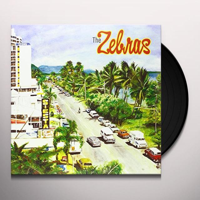 Zebras SIESTA Vinyl Record