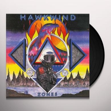 Hawkwind ZONES Vinyl Record - Limited Edition