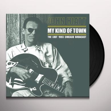 John Hiatt MY KIND OF TOWN Vinyl Record - Limited Edition