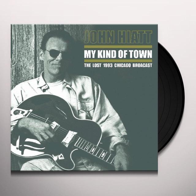 John Hiatt MY KIND OF TOWN Vinyl Record - Limited Edition