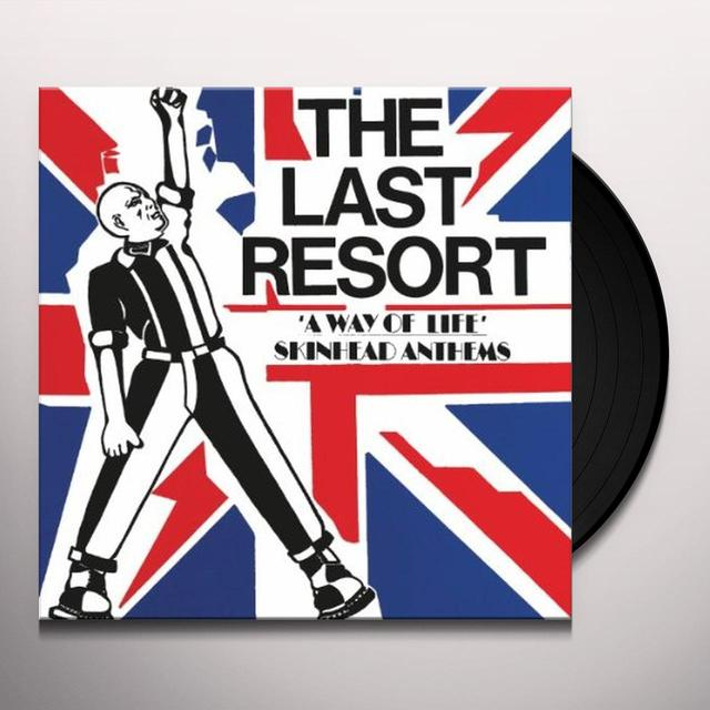 Last Resort WAY OF LIFE: SKINHEAD ANTHEMS Vinyl Record - Limited Edition