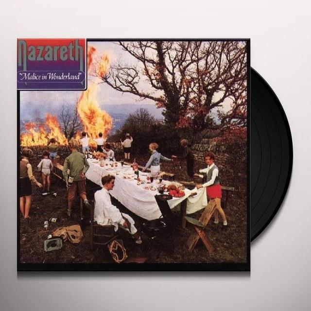 Nazareth MALICE IN WONDERLAND Vinyl Record - Limited Edition