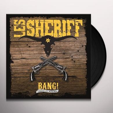 Les Sheriff BANG! MONTPELLIER 02/06/2012 Vinyl Record