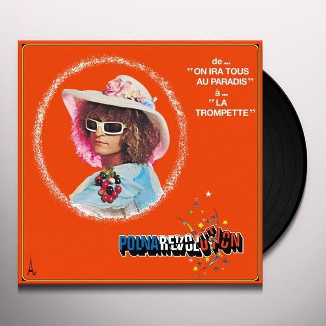 Mchel Polnareff POLNAREVOLUTION Vinyl Record