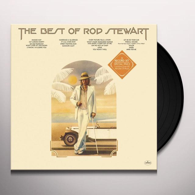 BEST OF ROD STEWART Vinyl Record