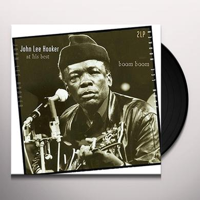 John Lee Hooker BOOM BOOM-AT HIS BEST Vinyl Record