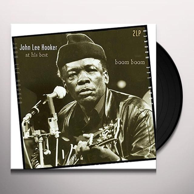 John Lee Hooker BOOM BOOM-AT HIS BEST (GER) Vinyl Record