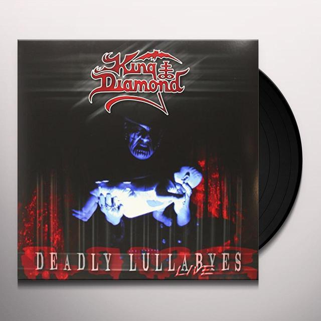 King Diamond DEADLY LULLABYES LIVE Vinyl Record - UK Import