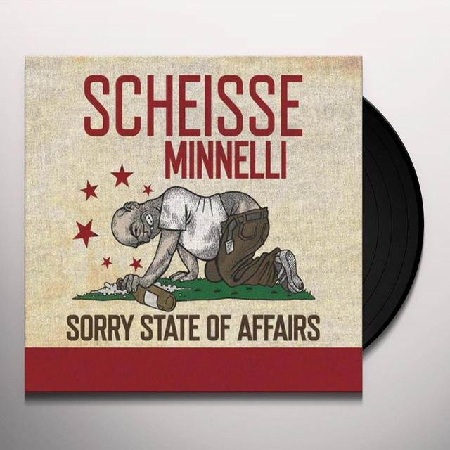 Scheisse Minnelli SORRY STATE OF AFFAIRS (GER) Vinyl Record