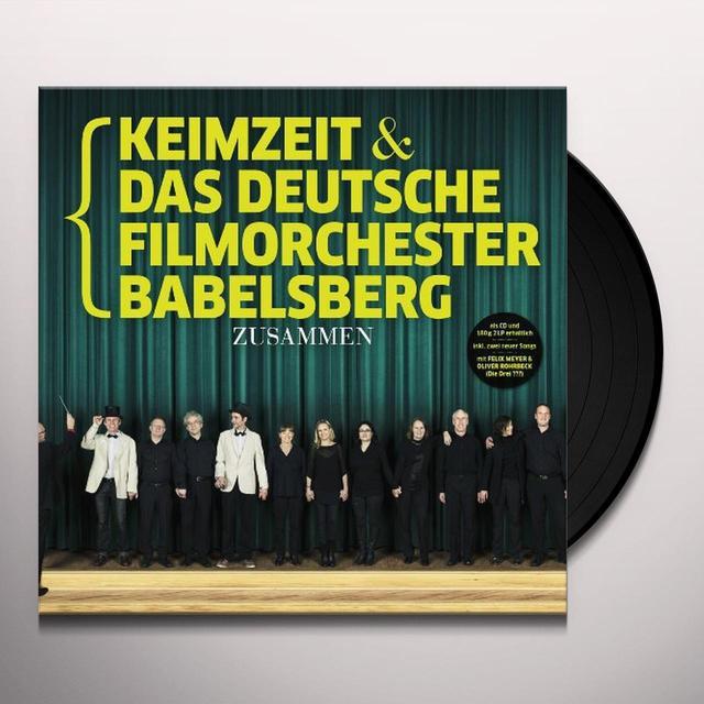 Keimzeit & Das Deutsche Filmorchester Babelsberg ZUSAMMEN Vinyl Record