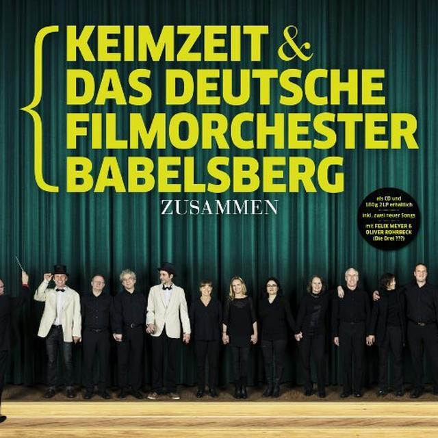 Keimzeit & Das Deutsche Filmorchester Babelsberg ZUSAMMEN (GER) Vinyl Record