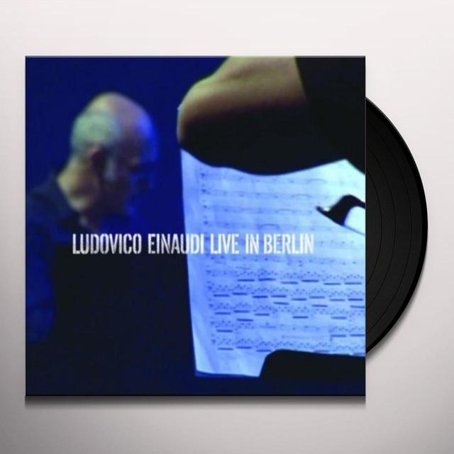 Ludovico Einaudi LIVE IN BERLIN (GER) Vinyl Record