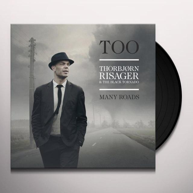 Thorbjoern Risager & The Black Tornado TOO MANY ROADS (GER) Vinyl Record