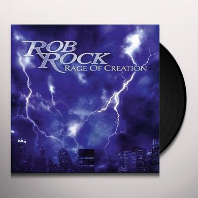 Rob Rock RAGE OF CREATION Vinyl Record