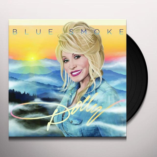 Dolly Parton Vinyl | Blue Smoke Holland Import