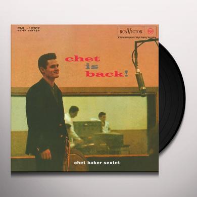 Chet Sextet Baker CHET IS BACK! Vinyl Record - Holland Import