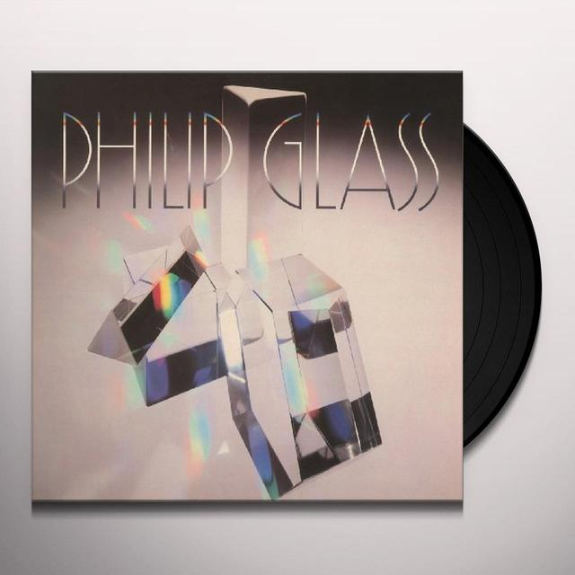 Philip Glass GLASSWORKS Vinyl Record - Holland Import