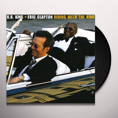Eric Clapton / B.B. King RIDING WITH THE KING Vinyl Record - 180 Gram Pressing