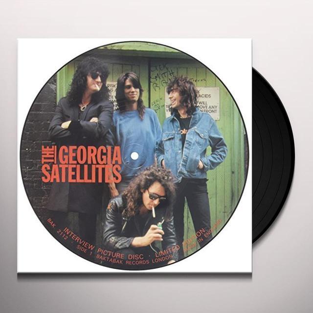 Georgia Satellites 80'S INTERVIEW PICTURE DISC Vinyl Record