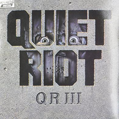 Quiet Riot QR III (THE WILD & THE YOUNG) Vinyl Record