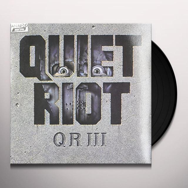 Quiet Riot QR III (THE WILD & THE YOUNG) Vinyl Record