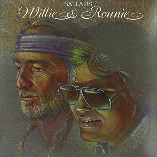 Willie Nelson / Ronnie Milsap BALLADS: WILLIE & RONNIE (BACK TO BACK) Vinyl Record