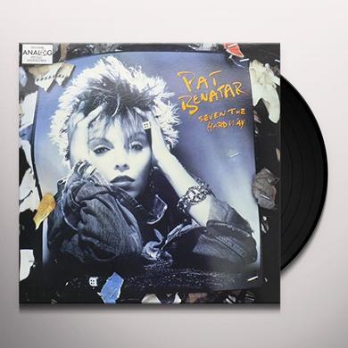 Pat Benatar SEVEN THE HARD WAY (SEX AS A WEAPON) Vinyl Record