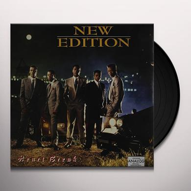New Edition HEARTBREAK Vinyl Record