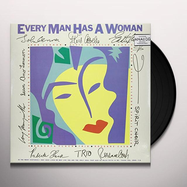 Every Man Has A Woman JOHN LENNON / ELVIS COSTELLO / HARRY NILSSON Vinyl Record