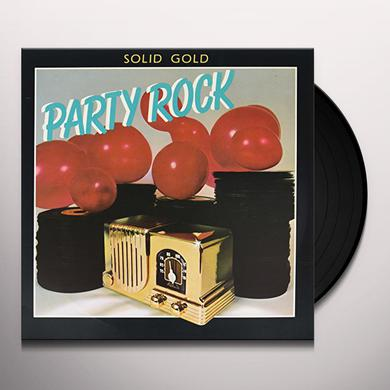 Solid Gold Party Rock 60'S & 70'S Vinyl Record