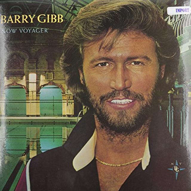 Barry Gibb NOW VOYAGER Vinyl Record