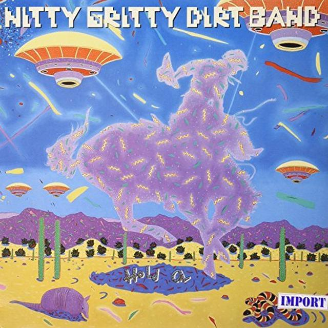 Nitty Gritty Dirt Band HOLD ON Vinyl Record