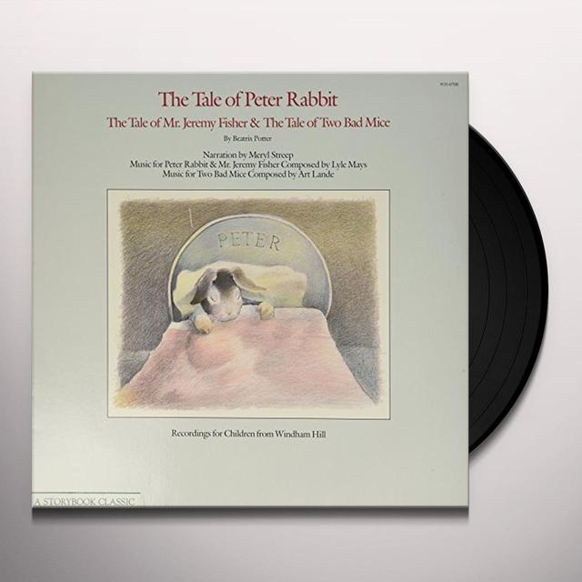 Meryl Street TALE OF PETER RABBIT Vinyl Record