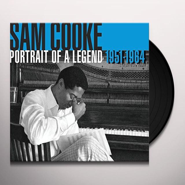 Sam Cooke PORTRAIT OF A LEGEND 1951-1964 Vinyl Record