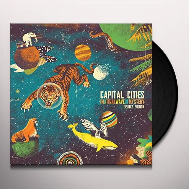 Capital Cities IN A TIDAL WAVE OF MYSTERY Vinyl Record - Deluxe Edition