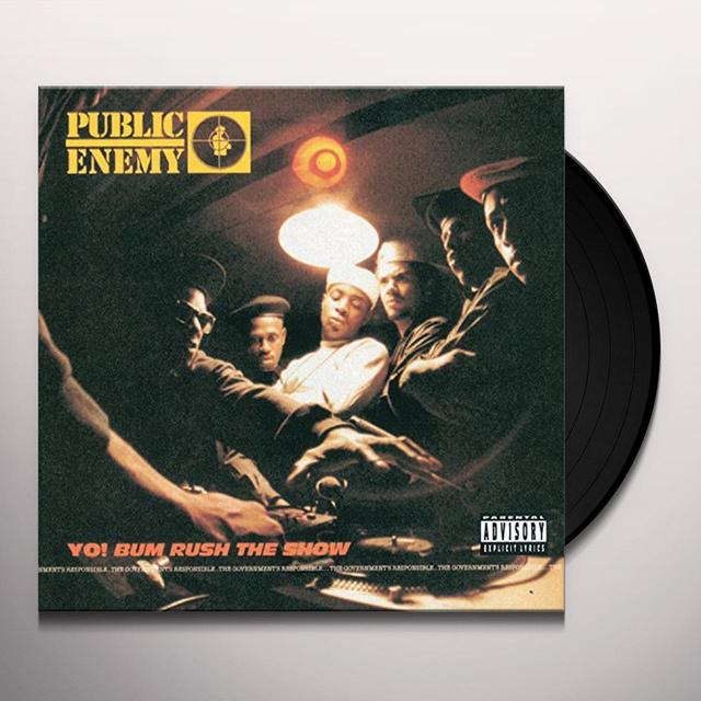 Public Enemy YO BUM RUSH THE SHOW Vinyl Record