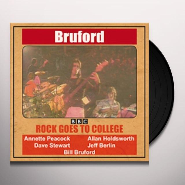 Bill Bruford ROCK GOES TO COLLEGE Vinyl Record - Limited Edition