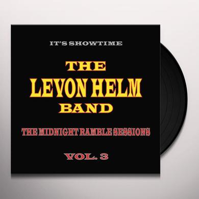 Levon Helm MIDNIGHT RAMBLE SESSIONS 3 Vinyl Record
