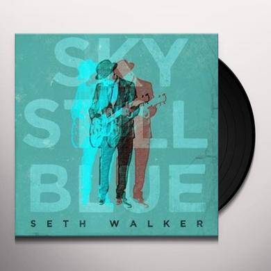Seth Walker SKY STILL BLUE Vinyl Record