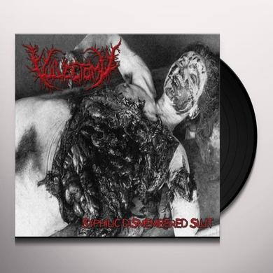 VULVECTOMY SYPHILIC DISMEMBERED SLUT Vinyl Record