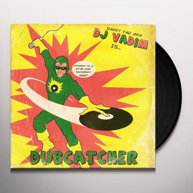 Dj Vadim DUBCATCHER Vinyl Record - Gatefold Sleeve
