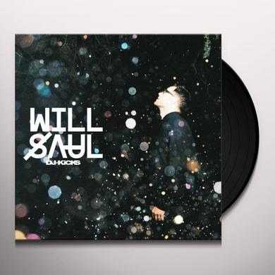 WILL SAUL DJ-KICKS Vinyl Record - w/CD