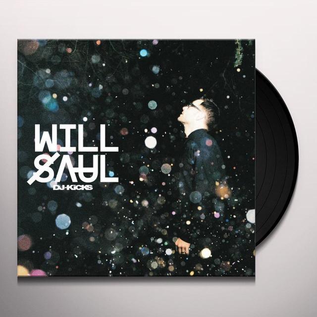 WILL SAUL DJ-KICKS Vinyl Record - w/CD