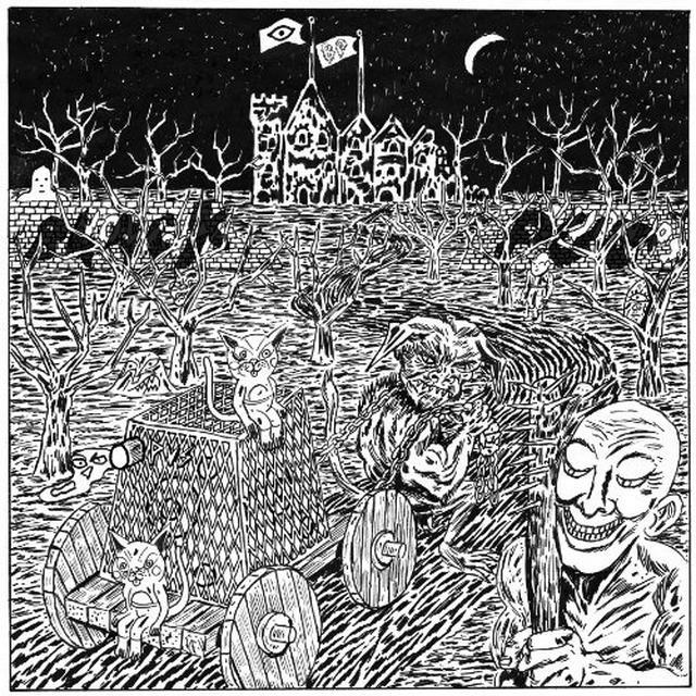 Black Pus / Oozing Wound SPLIT Vinyl Record - Digital Download Included