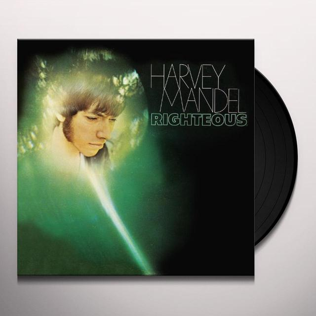 Harvey Mandel RIGHTEOUS Vinyl Record