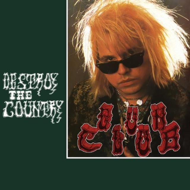 The Gun Club DESTROY THE COUNTRY Vinyl Record