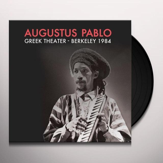 Augustus Pablo GREEK THEATER BERKELEY CA 1984 Vinyl Record