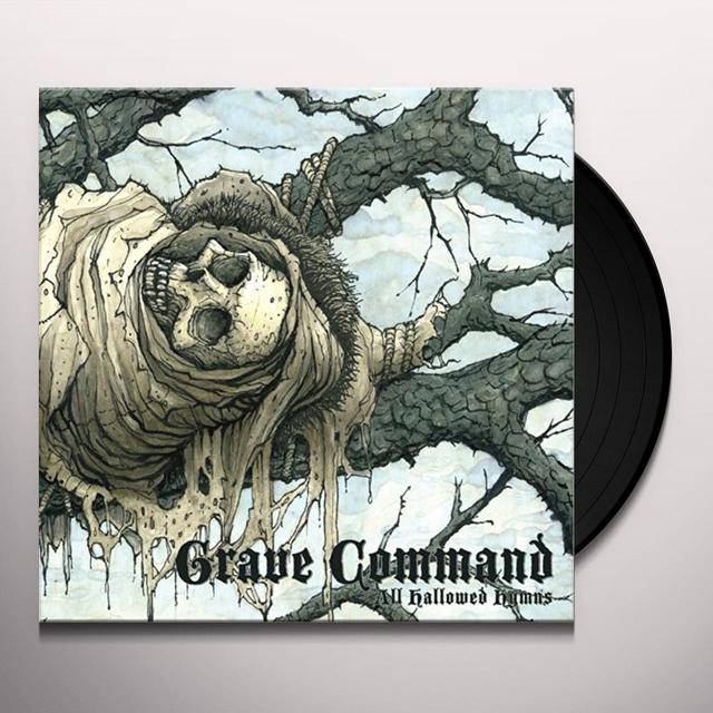 Grave Command ALL HALLOWED HYMNS (COMPILATION) Vinyl Record